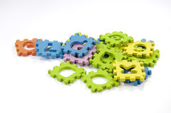 The key puzzle Stock Photography