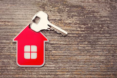 Key and Red House Stock Photography