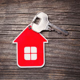 Key and Red House Royalty Free Stock Photos