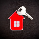 Key and Red House Stock Image