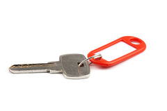 Key with red nameplate Stock Photos