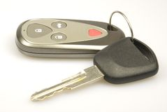Key and remote Stock Image