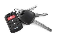 key remote för bil Arkivfoto