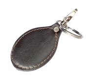 Key ring. Over white background Royalty Free Stock Images