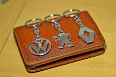 Key ring Stock Photo