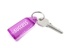 Key Ring with Success Royalty Free Stock Image