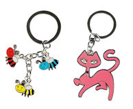 Key rings Stock Image