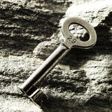 Key on the rocks Stock Images