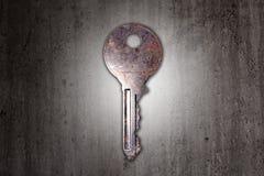 key rostigt Arkivfoton
