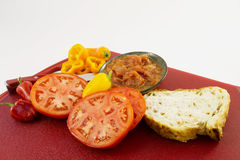 key salsa för ingredienser Royaltyfria Bilder