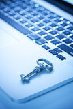 Key Security Computer Royalty Free Stock Photos
