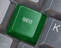 Key for SEO Royalty Free Stock Image