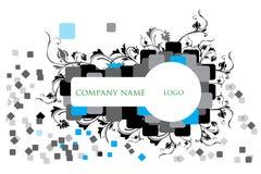 Key shaped Logo art work stock illustration