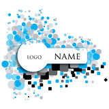 Key shaped Logo art work Royalty Free Stock Images