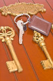 key silver för ask Arkivbilder