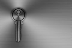 Key Stainless steel Royalty Free Stock Photo