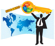 Key of success Stock Photography