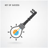 Key of success,business ideas Royalty Free Stock Photos