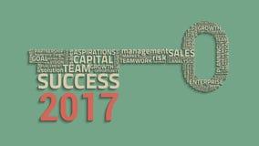 Key success concept Stock Images
