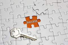 Key of Success Royalty Free Stock Images