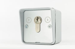Key switch Royalty Free Stock Photos
