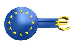 Key with symbol european union 01 Stock Photo