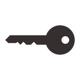 Key symbol Royalty Free Stock Photography