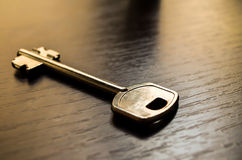 Key on table royalty free stock image