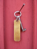 Key with tag Royalty Free Stock Images