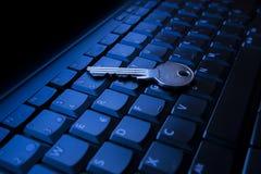 key tangentbord Royaltyfri Foto
