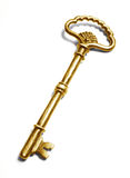 key tappning för guld Arkivfoton