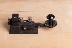 key telegraftappning för skrivbord Arkivbild