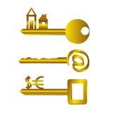 Key. vector illustration