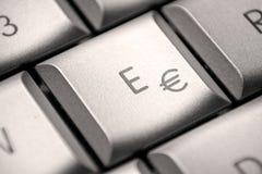 Key to € Royalty Free Stock Photos