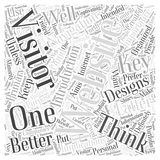 23 The Key to Better Websites A Navigation word cloud concept  background. Text Royalty Free Stock Image