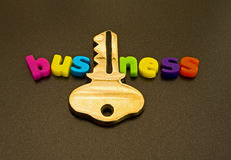 The key to business. Possible logo. stock photography