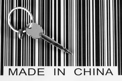 Key to china. Business concept. Royalty Free Stock Photography