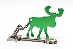 Key to the country house Royalty Free Stock Image