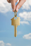 Key to a dream house Royalty Free Stock Photos