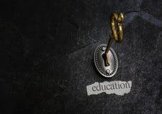 Key to education Royalty Free Stock Image