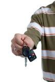Key To Family Car Stock Photo