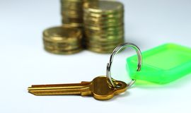 Key To Financial Security Royalty Free Stock Image