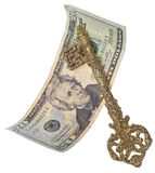Key to Financial Success Royalty Free Stock Photo