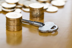 Key to financial success Stock Photography