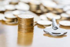 Key to financial success Stock Photos