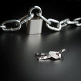 Key to freedom Stock Image