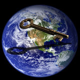 Key To Global Success Stock Image
