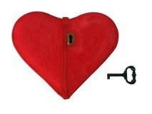 Key to heart Royalty Free Stock Photo