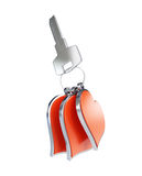Key to the Heart. Keys to the Heart on a white background Royalty Free Stock Photos