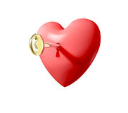Key to the Heart Royalty Free Stock Photography